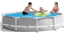 26700 Каркасный бассейн круглый INTEX Prism Frame Pool 305х76