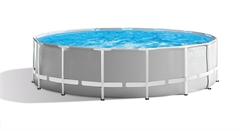 26710 Каркасный бассейн круглый INTEX Prism Frame Pool 366х76
