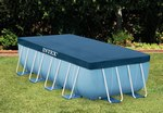 28037 Intex Тент для прямоугольного каркасного бассейна (389 х 184 см)