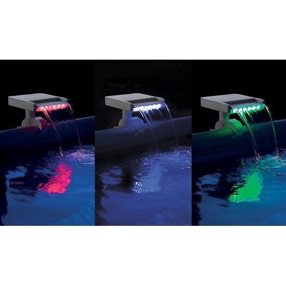 28090 Водопад для бассейна с LED подсветкой Intex