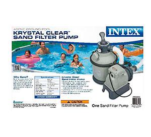 28644 Фильтр-насос для бассейна  Intex, песчаный 4000 л/ч (58397)