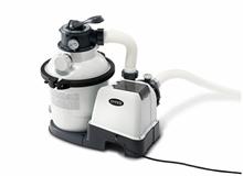 Песочный фильтр насос + хлоргенератор для бассейна (6000л/ч) Intex 28676
