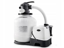 28680/26680 Песочный фильтр насос + хлоргенератор для бассейна (8000л/ч) Intex
