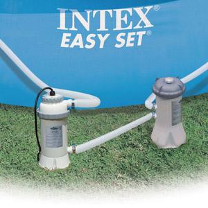 28684 Нагреватель воды для бассейнов, Intex диаметром до 457 см (58259)