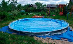 Сборка каркасных бассейнов до 5м