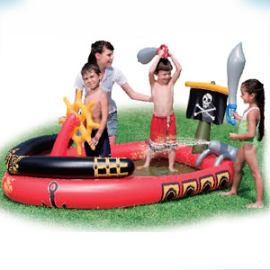 53041 Игровой бассейн Bestway Пираты  191х140х97 см