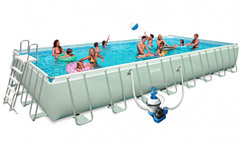 54986 Бассейн каркасный ULTRA FRAME POOL INTEX 54986 975х488х132см