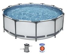 56260 Круглый каркасный бассейн BestWay 366х100см +фильтр-насос