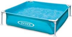 57173 Каркасный бассейн прямоугольный Intex, 122х122х30см,  (57172)