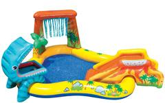 57444 Детский Игровой центр Intex «Динозавр»
