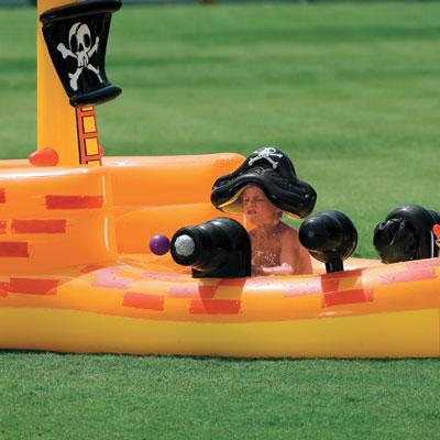 57457 Детский игровой центр-бассейн *Пиратский корабль* Intex 57457