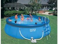 57932 Надувной бассейн Intex Easy set голубой 549х132 57932