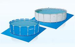 58002 Подстилка для надувных и каркасных бассейнов 396х396см.