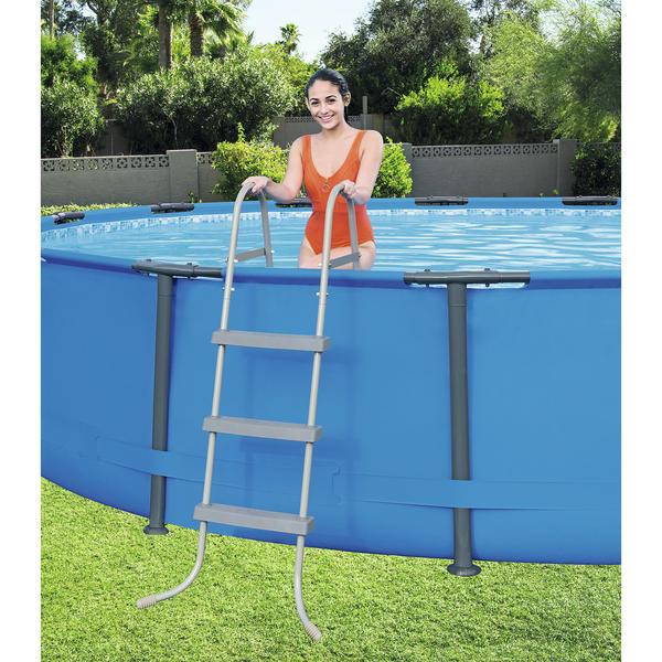 58334 Лестница для бассейнов до 91см, 3 ступени, без площадки