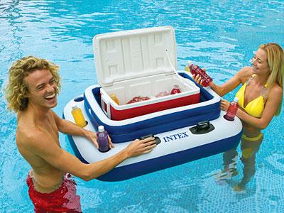 58821 Охладитель-бар для напитков Intex  Mega Chill - II плавающий