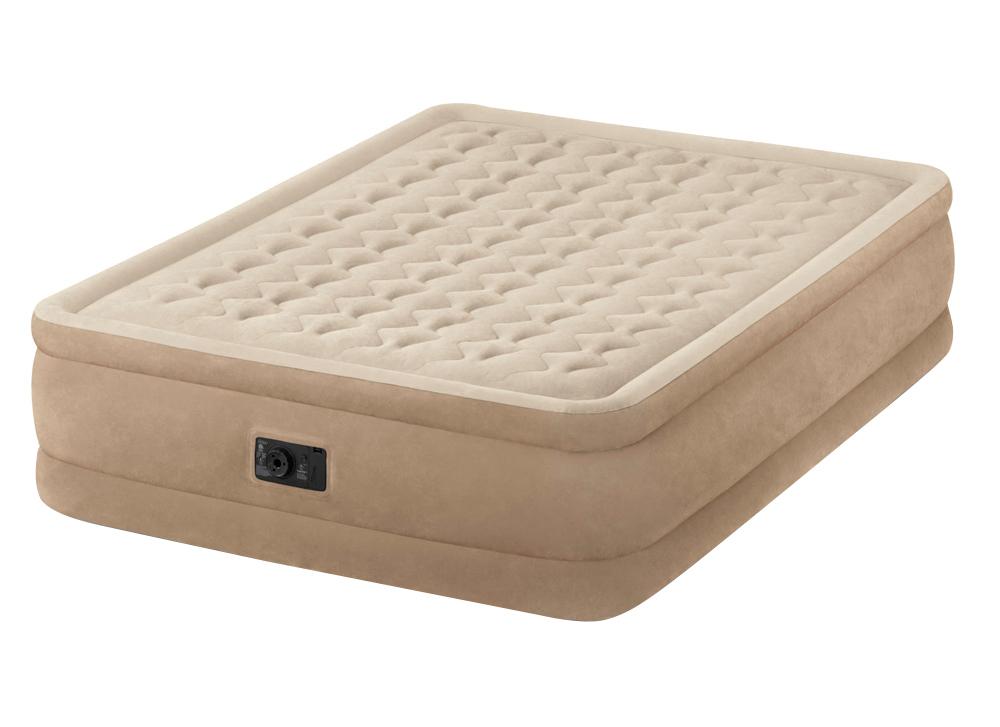 64456 Надувная кровать Intex (99 X 191 X 46) Односпальная со встроенным насосом