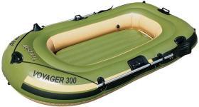65051 Bestway Надувная лодка Voyager 300 243х102х31 см с вёслами.