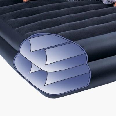 66706 Надувная кровать Intex (99 X 191 X 42) Односпальная со встроенным насосом