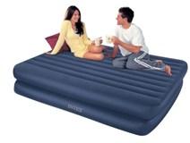 66710 Надувная кровать Intex (152 X 203 X 48) двуспальная с насосом