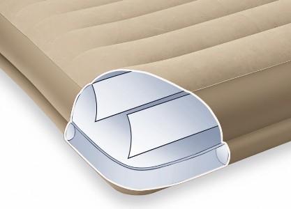 67746 Надувная кровать Intex Pillow Rest Mid-Rise, без насоса (203x152x38)