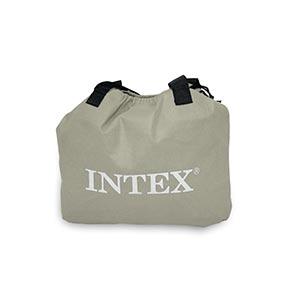 67766 Надувная кровать односпальная с встроенным насосом Intex (99х191х33)