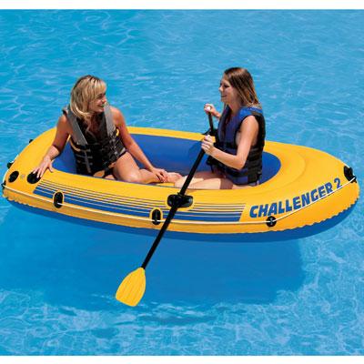 68357 Надувная лодка Challenger 2 Set 236х114х41 см.