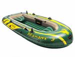 68380 Надувная лодка Intex ПВХ Seahawk-300 (Set), 295х137x43 см+весла, насос