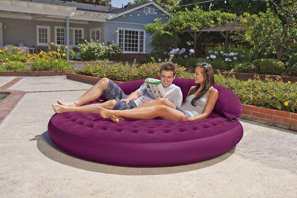 68881 Надувное кресло-матрас Intex 68881, 191х53 см.