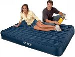 68982 Надувной матрас-кровать двуспальный улучшенной конструкции (152х203х25)