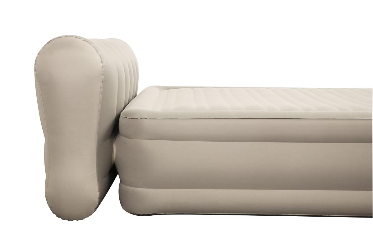 69019 Надувная кровать Essence Fortech Bestway 229х152х79см со спинкой, встроенный электронасос
