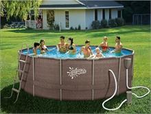 P20-1552-B Каркасный бассейн круглый  Summer Escapes, 457х132см, фильтр-насос картр 3800 л/ч
